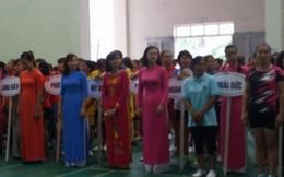 300 vận động viên nữ tham gia Hội khỏe Phụ nữ Thủ đô 2017