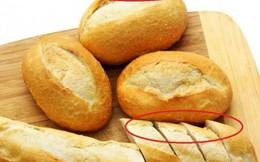 Cách nhận biết bánh mì chứa chất KBrO3 gây ung thư