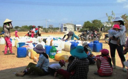 'Làng khát' ở Ninh Thuận