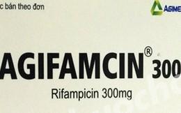 Đình chỉ lô thuốc Agifamcin 300 trên thị trường do có hàng giả