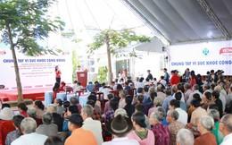 Vedan Việt Nam tổ chức khám bệnh từ thiện và phát thuốc miễn phí ở Đồng Nai