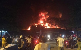 Hà Tĩnh: Cháy chợ lớn nhất phố núi Hương Khê