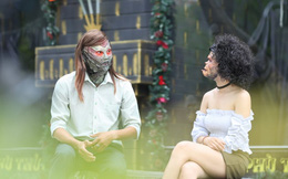 Anh chàng bị vợ bỏ đeo mặt nạ gấu đi hẹn hò