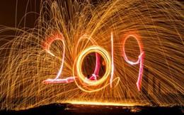 Vòng quanh thế giới chào đón năm mới 2019