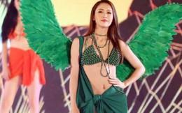 Hoa hậu Phan Thu Quyên diện bikini làm 'nóng' Lễ hội Du lịch Biển Sầm Sơn 2018