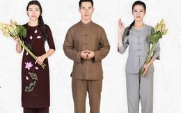 Trang phục Phật tử rằm tháng 7 đa dạng kiểu dáng, giá chỉ từ 80 nghìn đồng
