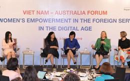 Nâng cao vai trò và đóng góp của phụ nữ trong lĩnh vực đối ngoại