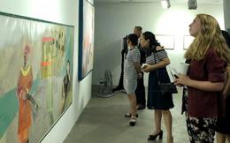 Triển lãm 'Muối của rừng' giao lưu văn hóa Việt - Hàn
