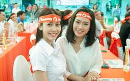 Hoa hậu Phan Thu Quyên, Á khôi Thạch Thảo tham gia hiến máu cứu người