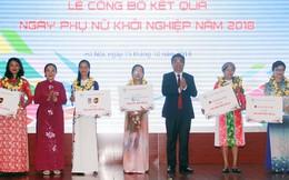 20 đề án xuất sắc của phụ nữ được cấp vốn hỗ trợ khởi nghiệp