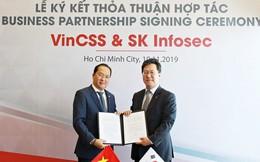VinCSS ký thoả thuận hợp tác an ninh mạng với SK Infosec