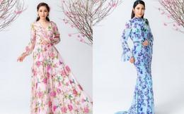 Ngắm bộ sưu tập áo dài 'Thành phố 10 mùa hoa' của NTK Văn Thành Công