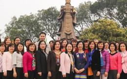 Hội LHPN Việt Nam dâng hương tại đền thờ Nguyên phi Ỷ Lan