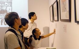 Học sinh Hà Nội tổ chức triển lãm 'Tiếng vang' về nữ quyền