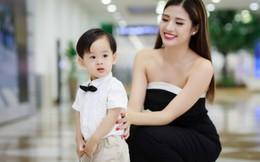 Vẻ đáng yêu của con trai Hoa hậu Phan Hoàng Thu
