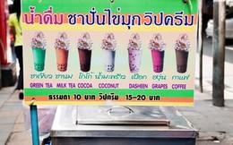 Thái Lan đưa ra khuyến cáo về lượng đường trong trà sữa