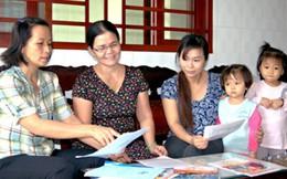 Hỗ trợ phụ nữ tham gia giải quyết một số vấn đề xã hội