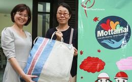 Nữ biên tập viên người Nhật tặng đồ ủng hộ Mottainai 2018