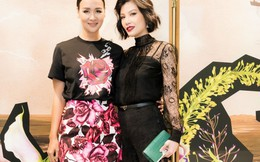 Vũ Cẩm Nhung hội ngộ Hoa hậu Phụ nữ Việt Nam qua ảnh Bảo Ngọc