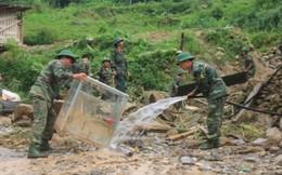 Lào Cai cấp phát lương thực cho các gia đình bị thiệt hại nặng