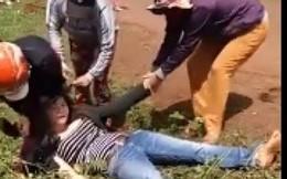 Cô gái bị đánh ghen thừa sống thiếu chết