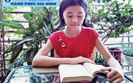 Mẹ 'rủ' con gái 11 tuổi thi đọc truyện 'Hạnh phúc gia đình'
