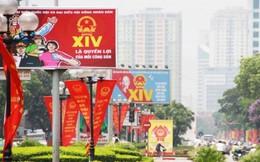 Hà Nội rực rỡ cờ hoa đón ngày bầu cử