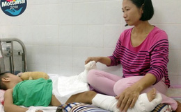 Tai nạn kinh hoàng ám ảnh 2 mẹ con từng giấc ngủ