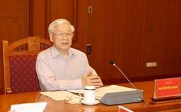 Tổng Bí thư Nguyễn Phú Trọng chủ trì cuộc họp về phòng, chống tham nhũng