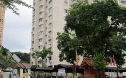 Giải cứu 1 phụ nữ Việt định nhảy lầu ở Malaysia