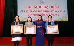Cán bộ, công chức, viên chức Cơ quan TƯ Hội LHPNVN nhắn tin ủng hộ Tết vì người nghèo