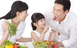 Tạo thói quen ăn uống lành mạnh cho con ngay từ nhỏ