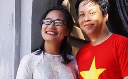 'Chuyện tình Trường Sa' lãng mạn của nữ nhà báo và chàng Việt kiều