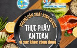 Phụ nữ Hà Nội nhảy dân vũ truyền thông điệp sản xuất, kinh doanh thực phẩm an toàn