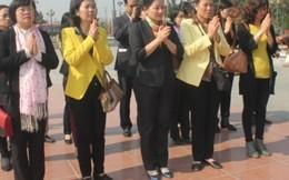 Lãnh đạo Hội dâng hương tại đền Nguyên phi Ỷ Lan