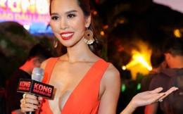 Hà Anh gọi chồng là vua sau vụ cháy ra mắt phim 'Kong: Đảo đầu lâu'