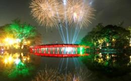 Hà Nội bắn pháo hoa tại 30 điểm chào đón Tết Nguyên đán 2018