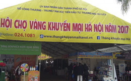 Hội chợ vàng khép lại Tháng khuyến mại Hà Nội 2017