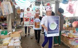 Nghệ An: Truyền thông về vệ sinh an toàn thực phẩm tại chợ quê