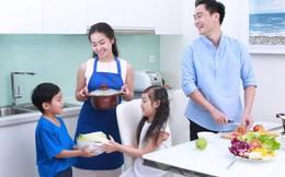 """Hạnh phúc khi con biết vào bếp """"Học nấu ăn – Học yêu thương"""""""