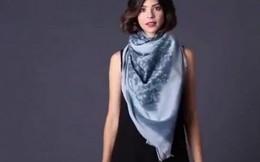 Cách quàng khăn độc đáo cho phái đẹp