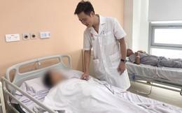 Ăn bún sườn, nữ bệnh nhân bị thủng ruột non