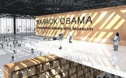 Tổng thống Obama xây thư viện mang tên mình