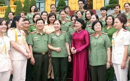 Quyền Chủ tịch nước Đặng Thị Ngọc Thịnh đánh giá cao vai trò của phụ nữ Công an