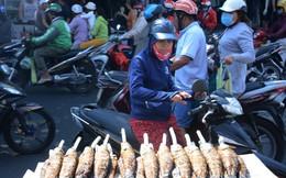 Phố cá lóc ở Sài Gòn đông nghịt khách ngày vía Thần tài