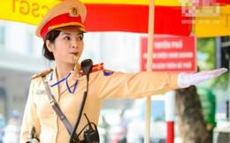 Hà Nội duy trì 25 chốt nữ cảnh sát giao thông xử lý vi phạm