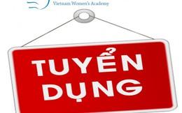 Học viện Phụ nữ Việt Nam tuyển dụng giảng viên