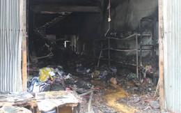 Cháy cửa hàng vàng mã, 2 trẻ chết