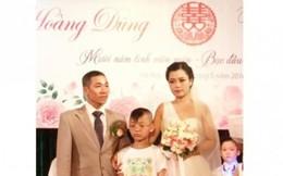 Đám cưới cổ tích của cô gái bị tan máu bẩm sinh