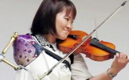 Cô gái chơi violon bằng tay giả: 'Hiểu được giá trị cuộc sống trong giai đoạn đen tối nhất'